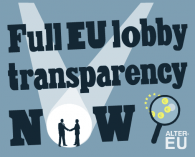 Full EU lobby transparency NOW